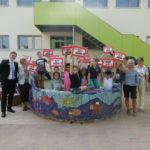 Die Sparkasse Dieburg schenkt allen Schulanfängern eine Mappe