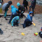 Der neue Sandkasten